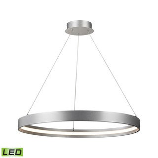 Alico Galleria 42 Watt Large LED Pendant In Aluminum