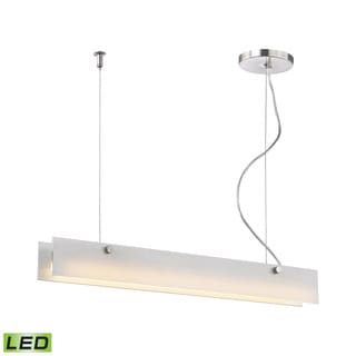 Alico Iris 10 Watt LED Pendant In Aluminum