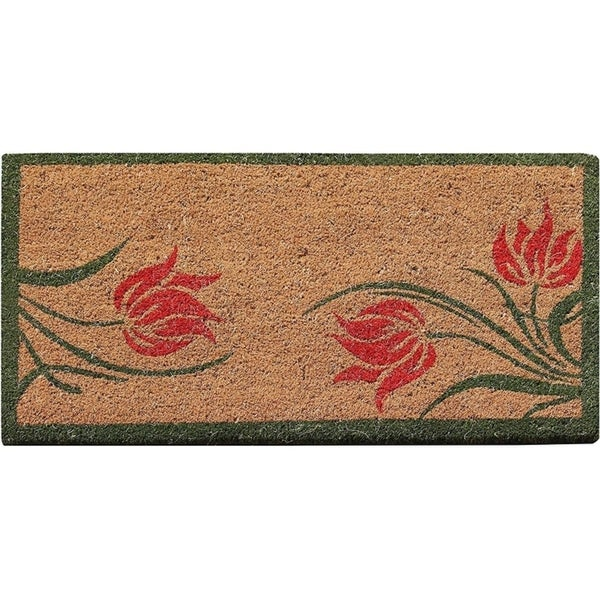 "First Impression Lily Coir All Season Entry Doormat (18"" X 30"")"