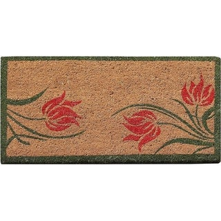 First Impression Lily Coir Entry Doormat