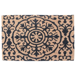 "First Impression Roseanne Coir Entry Doormat Large Size:24""X36"""