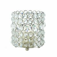 Shimmering Gems Round Candle Cup