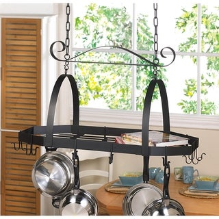 Madonna Modern Hanging Kitchen Rack