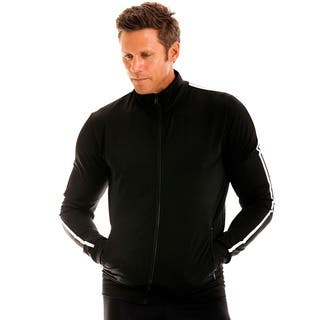 Insta Slim Men's Compression Zip Up Jacket|https://ak1.ostkcdn.com/images/products/11045637/P18058319.jpg?impolicy=medium