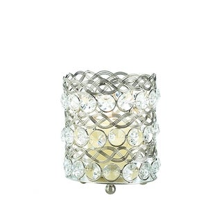 Small Beaded Crystal Candle Cup