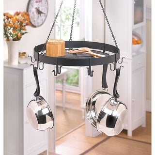 Aster Round Hanging Pot Rack