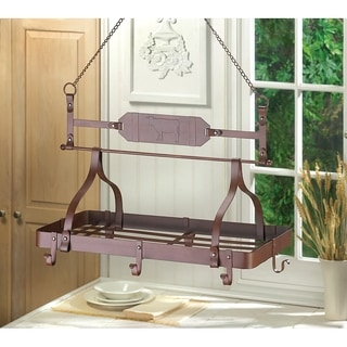 Jasmine Hanging Iron Pot Rack