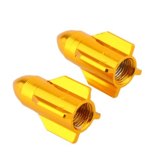 Rocket Ship Bike Valve Covers (Set of 2)