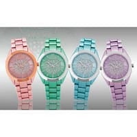 SO&CO New York Women's SoHo Quartz Stainless Steel Bracelet Crystal Watch
