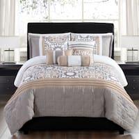 Santee Reversible 6-piece Comforter Set