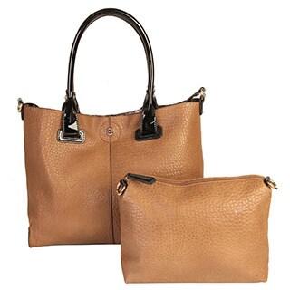 Diophy Faux PU Leather Bag in Bag Tote Women's Purse Handbag