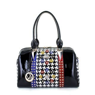 LANY Houndstooth Luxe Boston Bag https://ak1.ostkcdn.com/images/products/11045873/P18058499.jpg?impolicy=medium