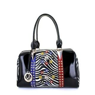 LANY Daisy Zebra Mania Boston Bag