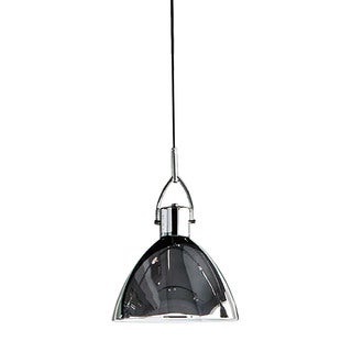 Alico Veleta 1-light Pendant in Chrome with Chrome Steel Shade