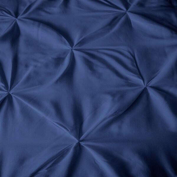 Kotter Home Pinch Pleat 3-piece Duvet Cover Set