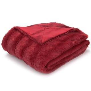 Red Blankets & Throws | Find Great Bedding Deals Shopping at ...