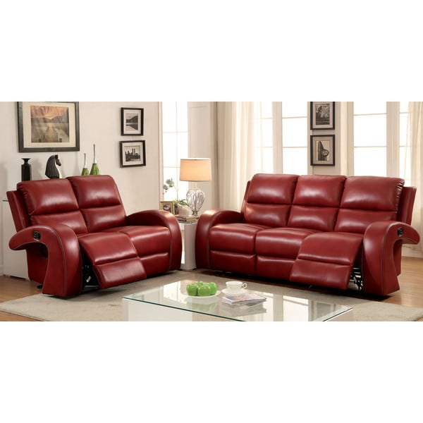 Furniture Of America Living Room Collections: Shop Furniture Of America Wellston Contemporary 2-piece