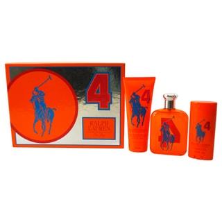 Ralph Lauren Big Pony Collection # 4 Men's 3-piece