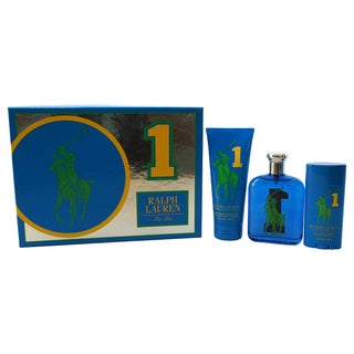 Ralph Lauren The Big Pony Fragrance Collection #1 Men's 3-piece Gift Set