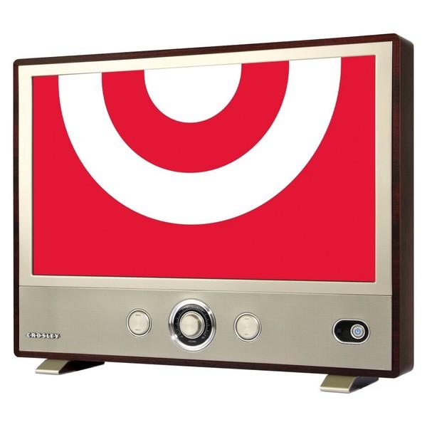 shop crosley 3589 24 u0026quot  class 1080p 60hz retro led hdtv