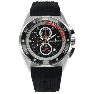 Studer Schild Chronograph Men's Quartz 45 mm Stainless Steel Watch