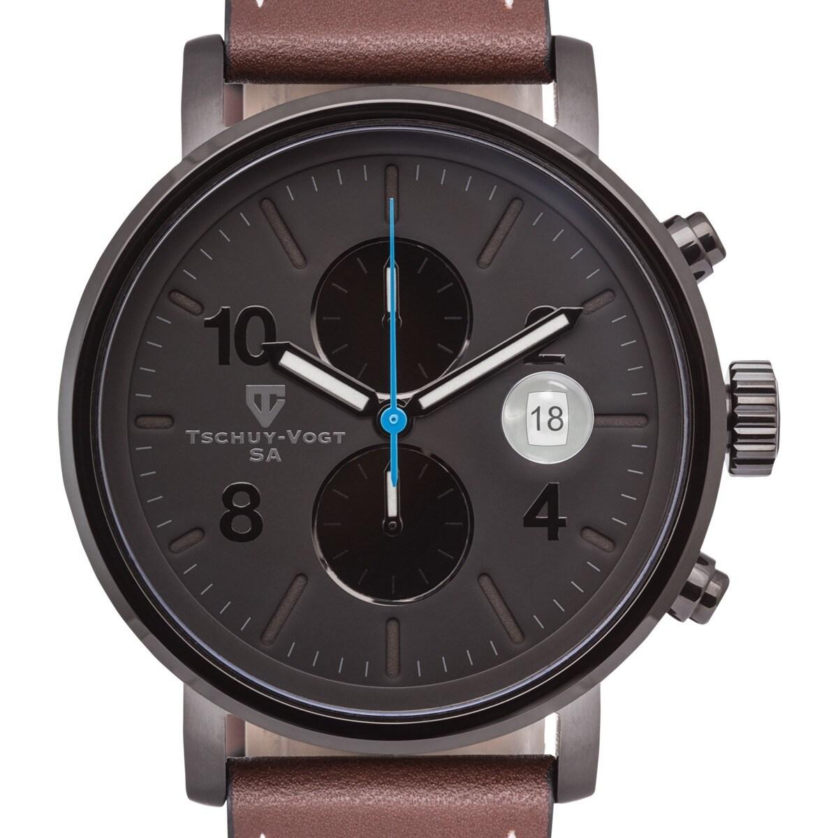 Tschuy-Vogt M60 Patton Men's Chronograph Watch Super Lumi...