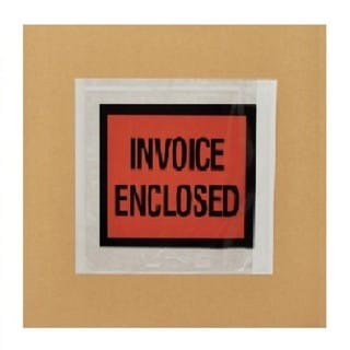 Packing List Invoice Enclosed Envelopes Full Face 4.5 x 5.5-inch (Pack of 1000)