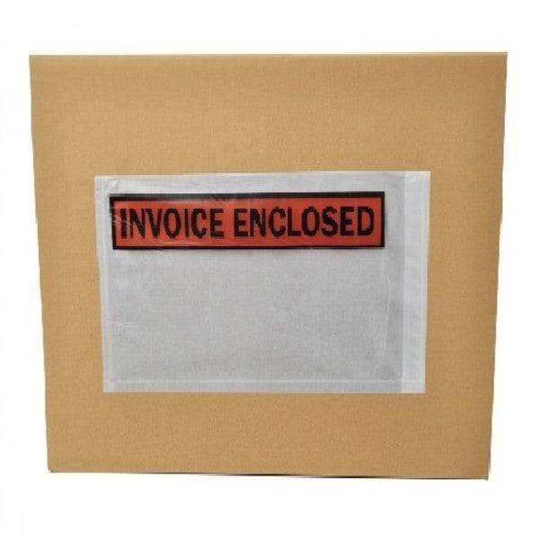 Packing List Invoice Enclosed Envelopes Panel Face X Inch - Invoice enclosed pouches