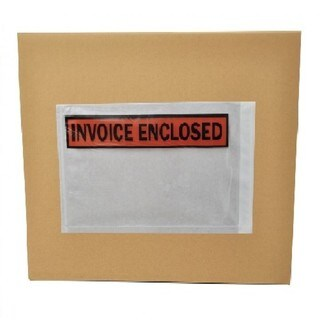 10000-pack ing List Invoice Enclosed Envelope Slip Holders Pouch 4.5 x 5.5 Back Side Load Panel Face