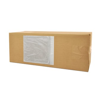 6000-pack Clear-pack ing List Envelopes Plane Face 4.5 x 5.5-inch