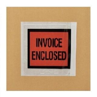 7000-pack ing List Slip Invoice Enclosed Envelopes 4.5 x 5.5 Full Face