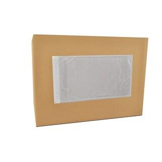 50000 5.5 x 10-inch Clear-pack ing List Envelopes Plane Face-back Side Loaded