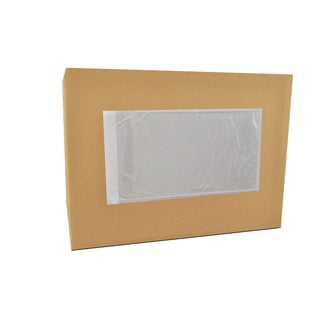 3000-pack Clear-pack ing List Envelopes Plane Face 5.5 x 10-inch