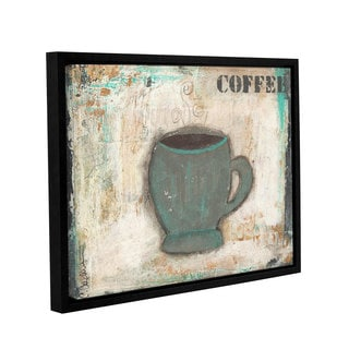 ArtWall Cassandra Cushman's Coffee, Gallery Wrapped Floater-framed Canvas
