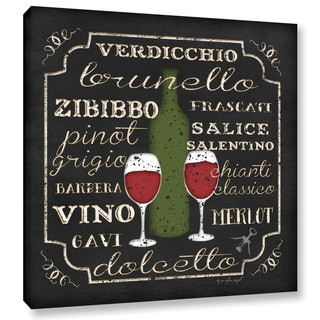 ArtWall Jennifer Pugh's Italian Wine, Gallery Wrapped Canvas