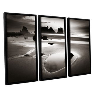 ArtWall Alan Majchrowicz's Point Of Arches, 3 Piece Floater Framed Canvas Set