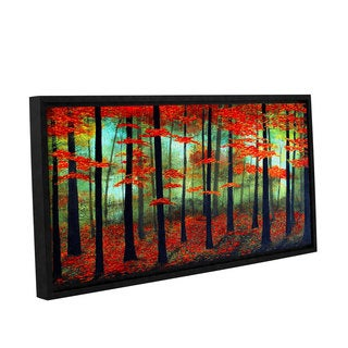 ArtWall Herb Dickinson's Deep Forest Love, Gallery Wrapped Floater-framed Canvas
