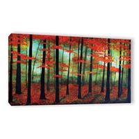 ArtWall Herb Dickinson's Deep Forest Love, Gallery Wrapped Canvas
