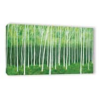 ArtWall Herb Dickinson's Deep Forest, Gallery Wrapped Canvas - Multi