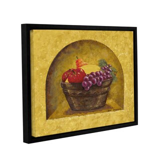 ArtWall Herb Dickinson's Fruit Niche, Gallery Wrapped Floater-framed Canvas