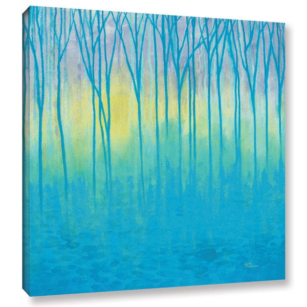 ArtWall Herb Dickinson's Lagoons Edge, Gallery Wrapped Canvas