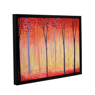 ArtWall Herb Dickinson's Placid, Gallery Wrapped Floater-framed Canvas
