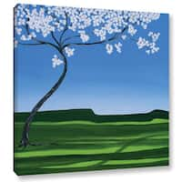 ArtWall Herb Dickinson's Thinking Spring, Gallery Wrapped Canvas