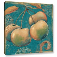 ArtWall Daphne Brissonnet's Lovely Fruits 3, Gallery Wrapped Canvas - Multi