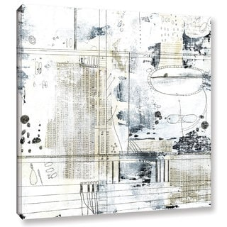 ArtWall Sarah Ogren's Neutral Abstract, Gallery Wrapped Canvas