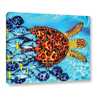 ArtWall Daniel Jean-Baptiste's Hawksbill & Jacks, Gallery Wrapped Canvas (5 options available)