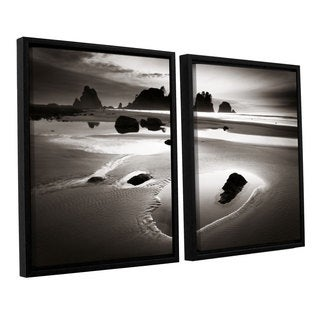 ArtWall Alan Majchrowicz's Point Of Arches, 2 Piece Floater Framed Canvas Set