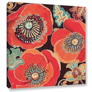 ArtWall Daphne Brissonnet's Morrocan Red V, Gallery Wrapped Canvas