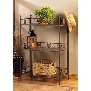 Texas Style 3-tier Iron Rack