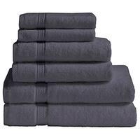 Vivendi 100-percent Premium Turkish Cotton 6-piece Towel Set